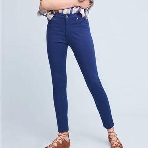 AG Jeans Farrah Ankle Obsidian Blue